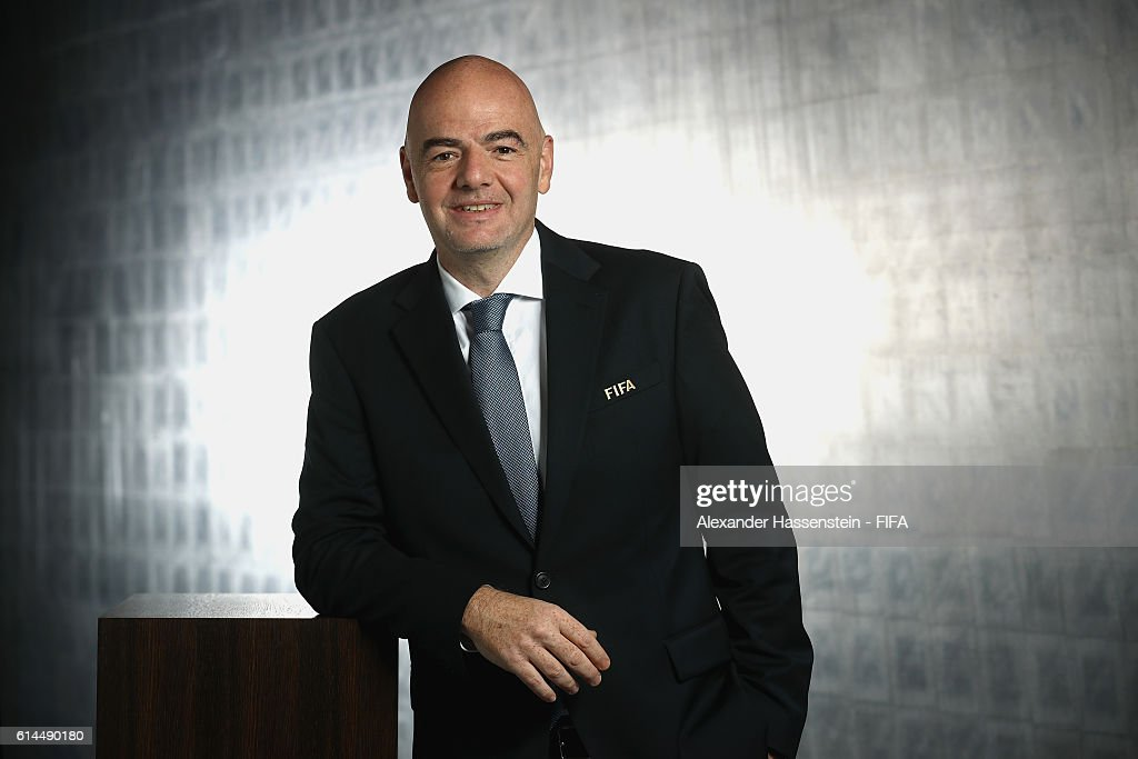 FIFA Council Members - Portrait Session