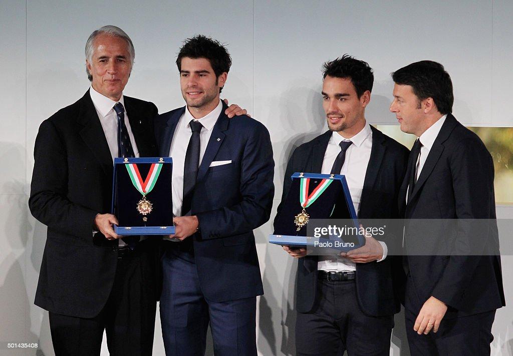 Italian Olympic Commitee 'Collari d'Oro' Awards : Foto di attualità