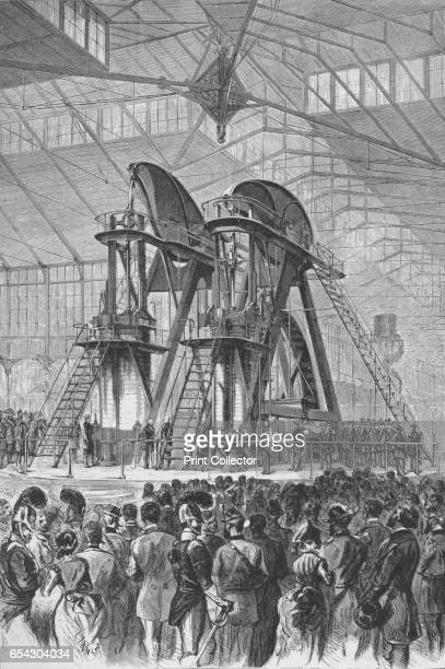 President Grant and the Emperor of Brazil officially opened the Centennial Exhibition c1876 The Centennial International Exhibition was opened by...
