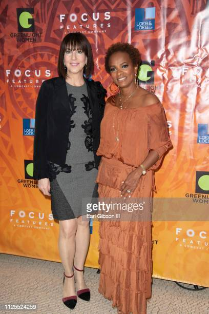 President GreenLight Women and actress Vanessa Bell Calloway attend the Greenlight Women For Black History Month Brunch Celebration at The London on...