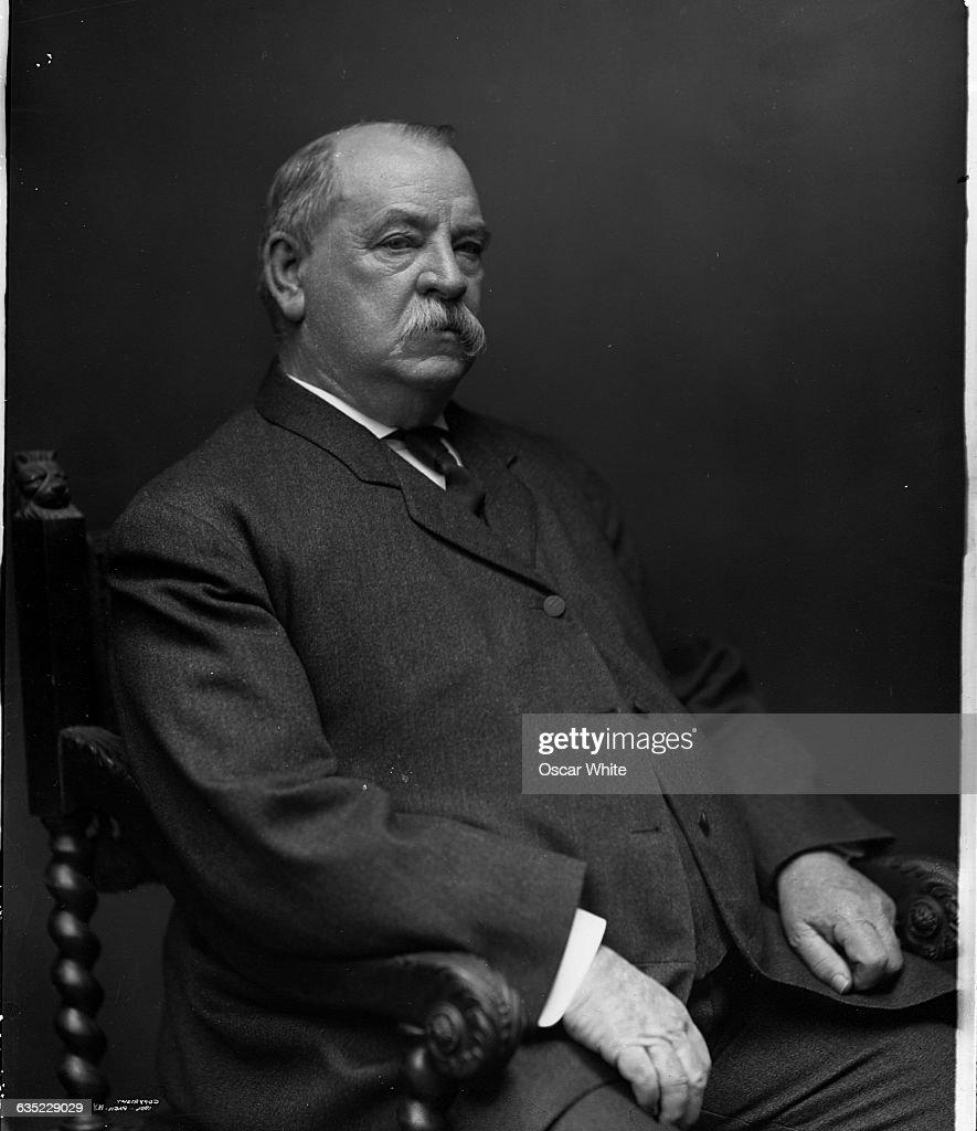 President Grover Cleveland : News Photo