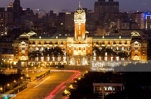 president hall of taiwan - president of taiwan stock pictures, royalty-free photos & images