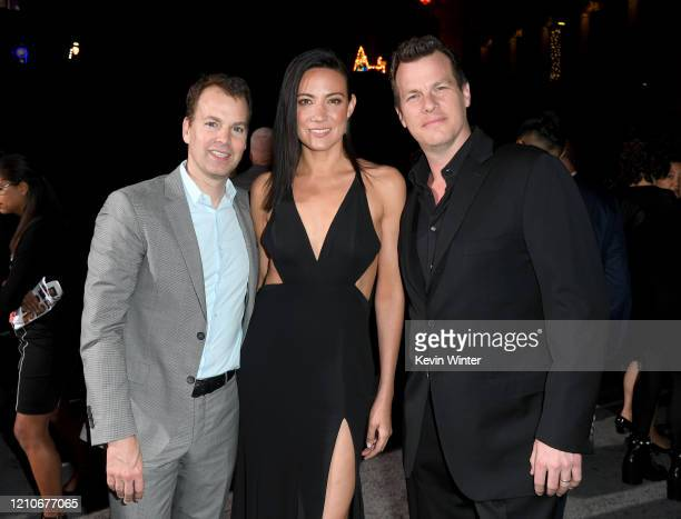 President HBO Programming Casey Bloys Lisa Joy and Jonathan Nolan attend the Premiere of HBO's Westworld Season 3 at TCL Chinese Theatre on March 05...