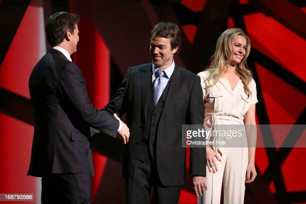 President Head of Programming for TNT TBS and Turner Classic Movies Michael Wright actors Jon Tenney and Rebecca Romijn attend the 2013 TNT/TBS...