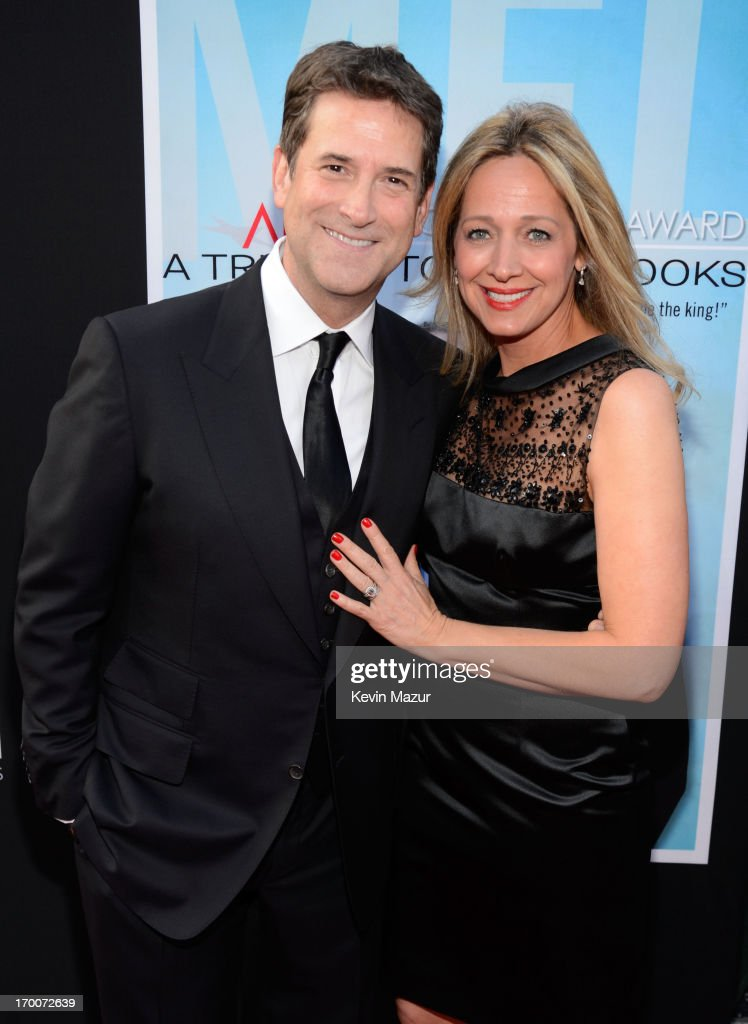 President, Head of Programming for TNT, TBS and Turner Classic Movies Michael Wright (L) and Tammi Chase-Wright attend AFI's 41st Life Achievement Award Tribute to Mel Brooks at Dolby Theatre on June 6, 2013 in Hollywood, California. 23647_004_KM_0360.JPG