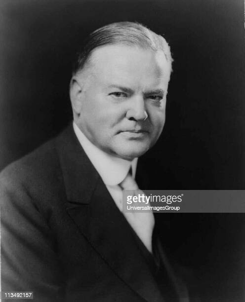 President Herbert Hoover 31st President of the United States of America . Head-and-shoulders photograph.