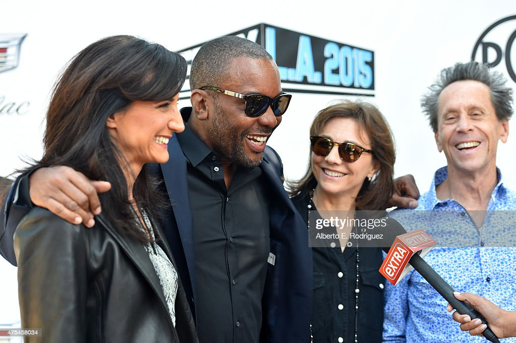 President, Imagine Television Francie Calfo, CEO, Lee Daniels, Principal, Little Chicken Productions Inc. Ilene Chaiken, and Chairman, Imagine Entertainment Brian Grazer attend the 7th Annual Produced By Conference at Paramount Studios on May 31, 2015 in Hollywood, California.