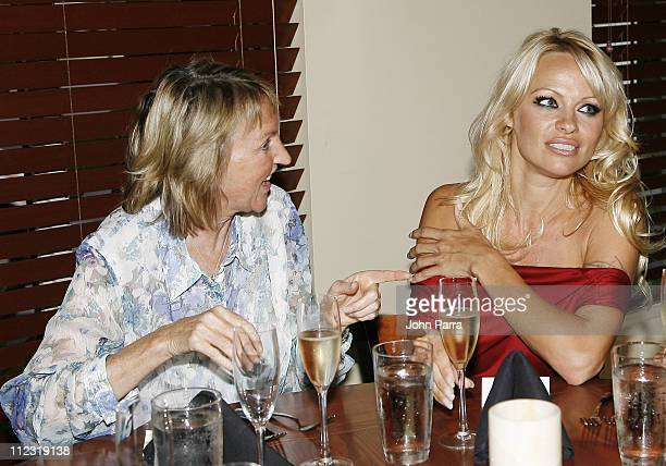 President Ingrid E Newkirk and Pamela Anderson *Exclusive Coverage*