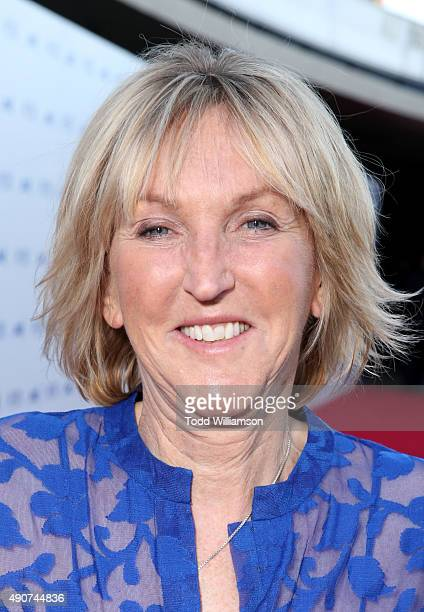 President Ingrid Newkirk attends PETA's 35th Anniversary Party at Hollywood Palladium on September 30 2015 in Los Angeles California