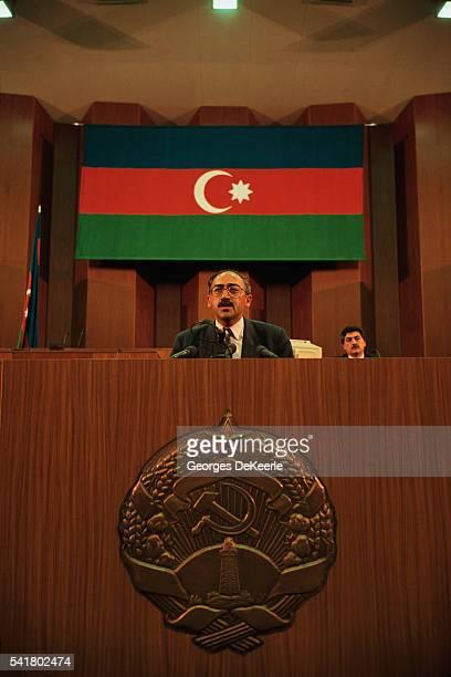 President Isa Gambar Adresses Political Crisis in Azerbaijan