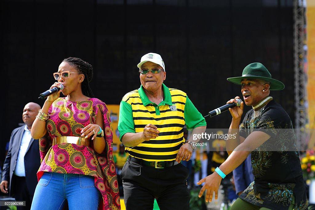 ANC 2016 Elections Manifesto Launch in South Africa : News Photo