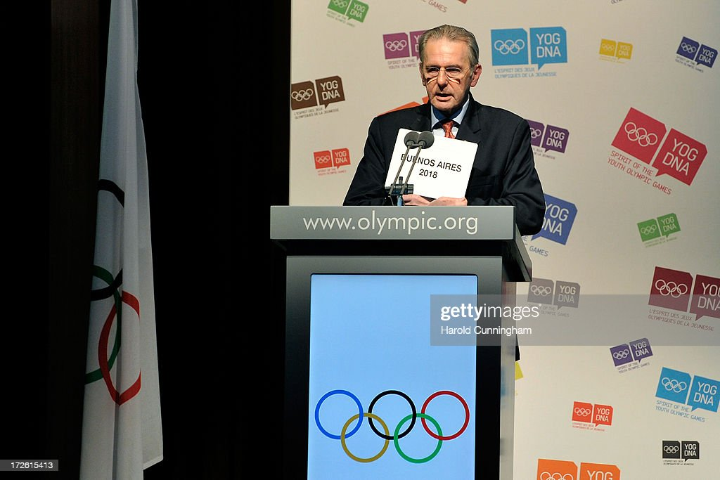 IOC Extraordinary Session - Presentation and Election of Host City of the 3rd Summer Youth Olympic Games in 2018
