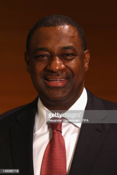 President Jeffrey Webb looks on during the CONCACAF extraordinary congress at Boscolo Hotel on May 23 2012 in Budapest Hungary