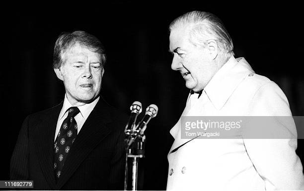 16 President Jimmy Carter Is Welcomed By Prime Minister Of Great Britain  James Photos and Premium High Res Pictures - Getty Images