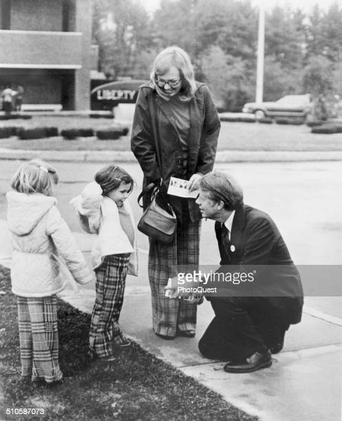 President Jimmy Carter campaigning 1976