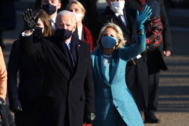DC: Joe Biden's Inauguration As 46th President Of The U.S. Is Celebrated With Parade In Washington, D.C.