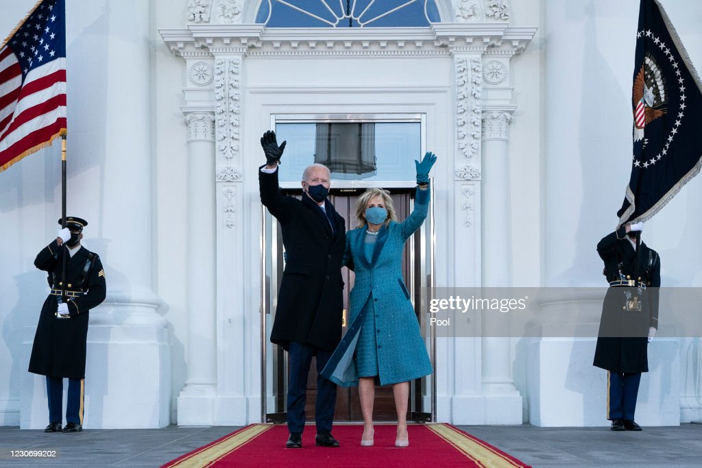 Joe Biden's Inauguration As 46th President Of The U.S. Is Celebrated With Parade In Washington, D.C. : ニュース写真