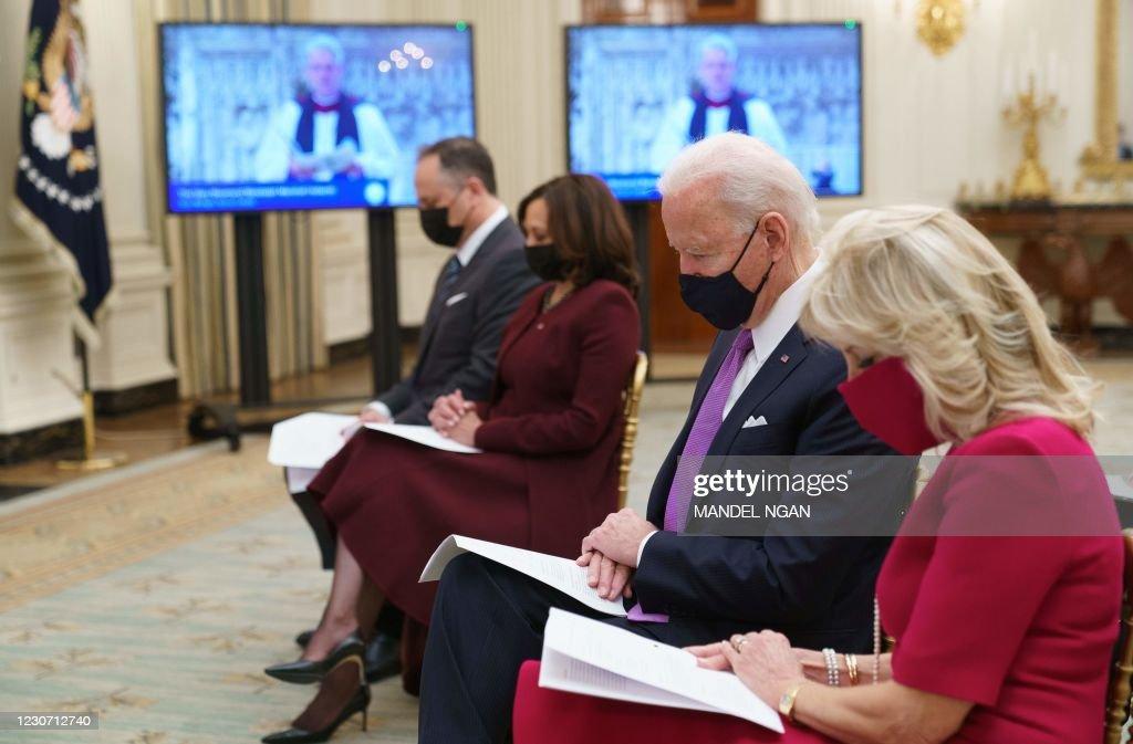 US-POLITICS-RELIGION-BIDEN : News Photo