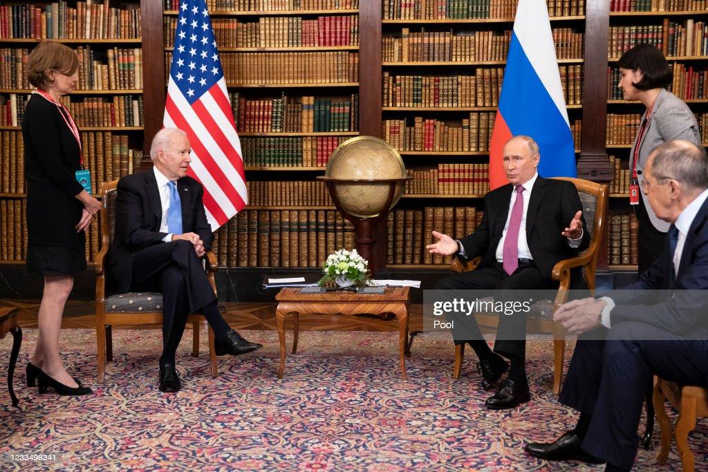 US-Russia Summit 2021 In Geneva : News Photo