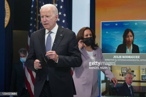 DC: President Biden Meets With Governors To Discuss Wildfire Response