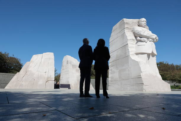 DC: President Biden Delivers Remarks At 10th Anniversary Dedication Of Martin Luther King Jr. Memorial