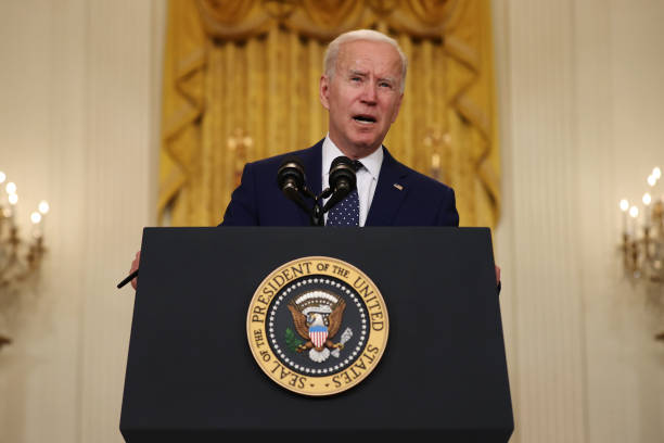DC: President Biden Delivers Remarks On Russia At The White House