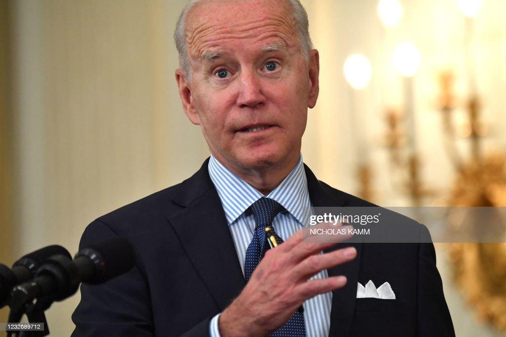 US-politics-BIDEN-health-virus : News Photo