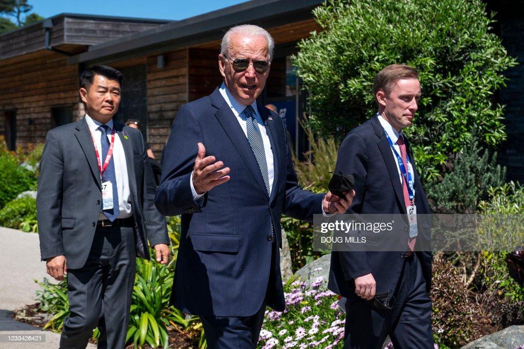 BRITAIN-G7-SUMMIT : News Photo