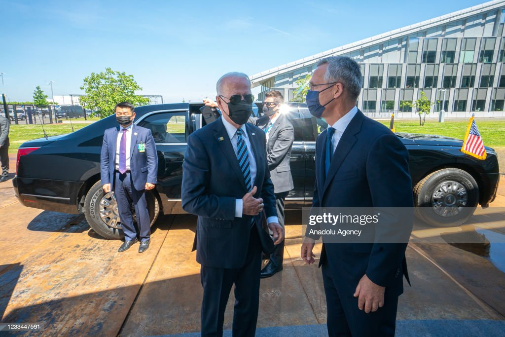 Leaders arrive for NATO Summit : News Photo