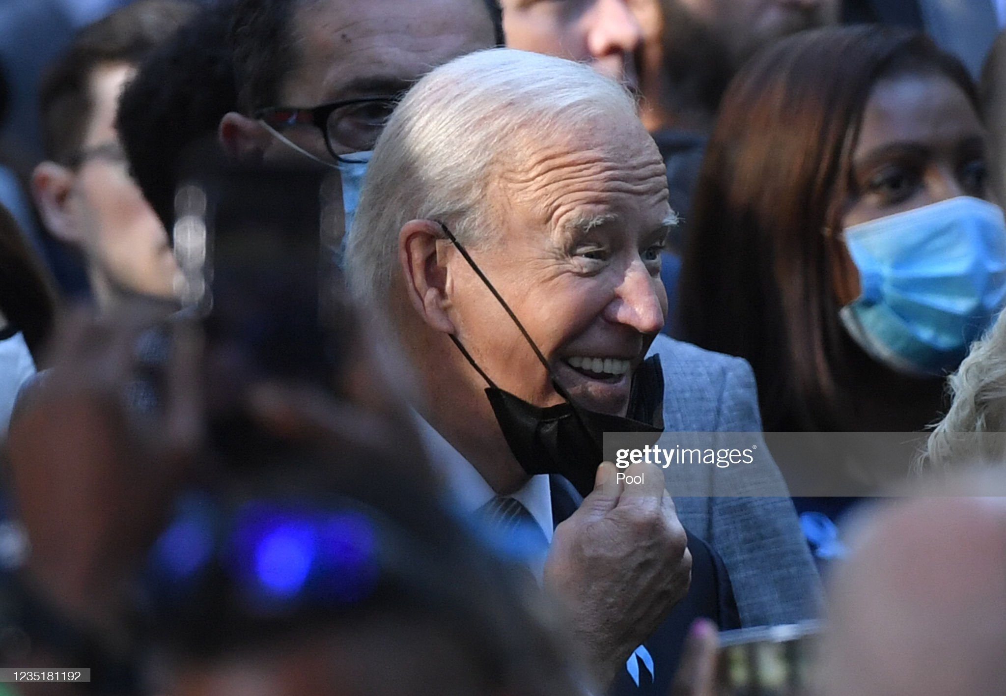 president-joe-biden-attends-the-ceremony-at-the-national-911-memorial-picture-id1235181192