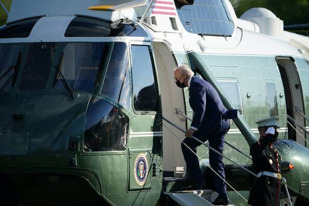 DC: President Biden Departs White House For Weekend In Delaware