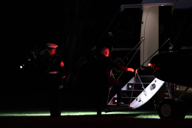 DC: President Biden Departs White House For Weekend In Delaware