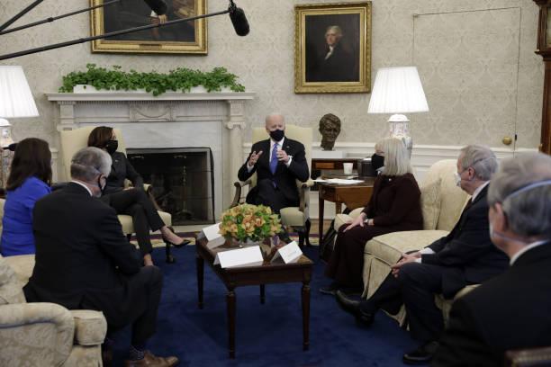 DC: President Biden Holds Bipartisan Meeting On Cancer