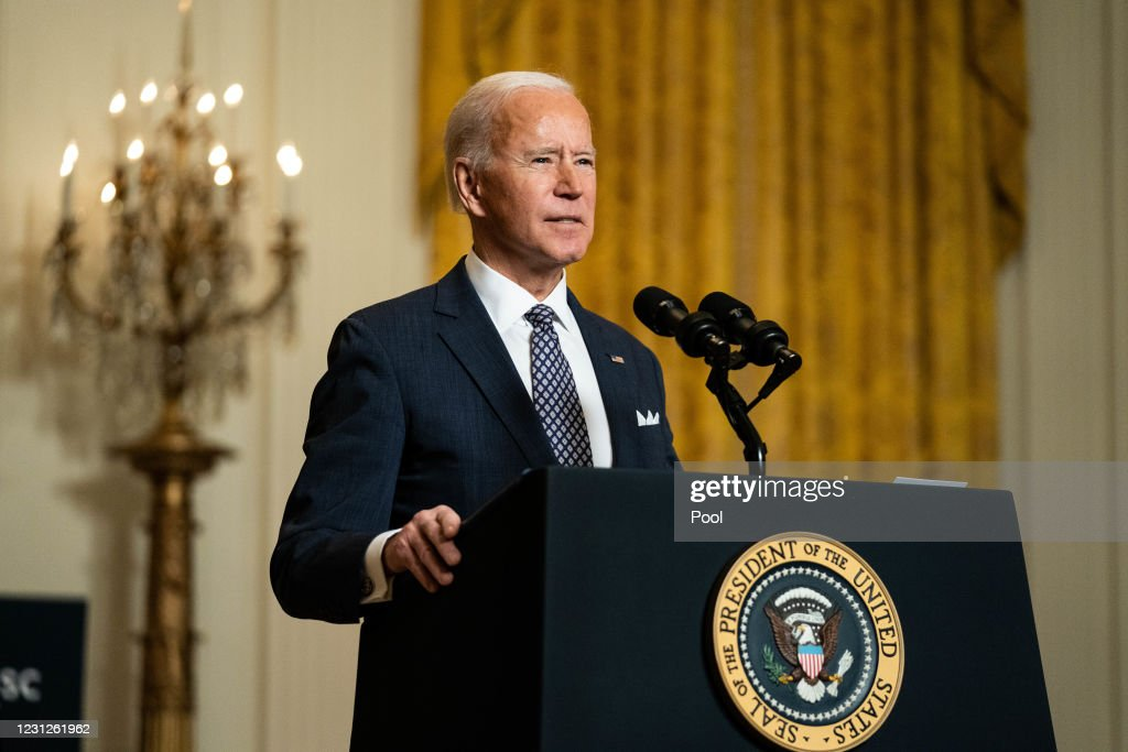 President Biden Delivers Remarks To Virtual Munich Security Conference : News Photo