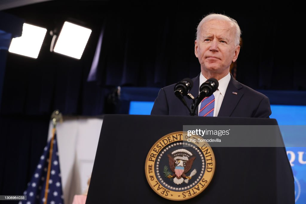 President Biden Holds White House Event To Mark Equal Pay Day : News Photo