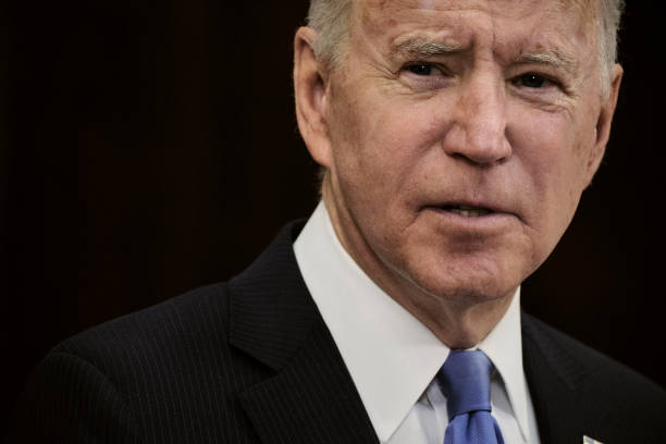 DC: President Biden Delivers Remarks On Colonial Pipeline Hack