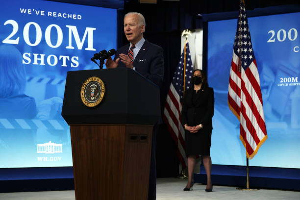 DC: President Biden Delivers Remarks On COVID-19 Response And State Of Vaccinations