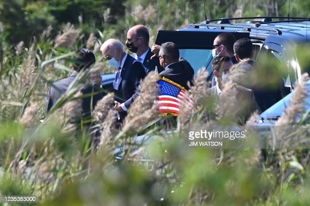 DC: President Biden Arrives To The White House From Delaware