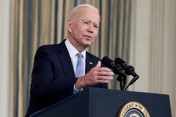 DC: President Biden Addresses COVID-19 Response And The Vaccination Program