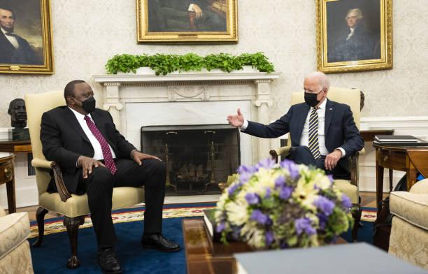 DC: President Biden Meets Kenyan President Uhuru Kenyatta