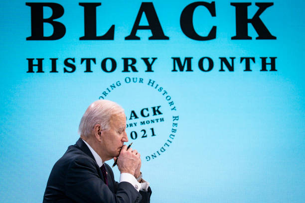 DC: President Biden Holds Roundtable Discussion With Black Essential Workers