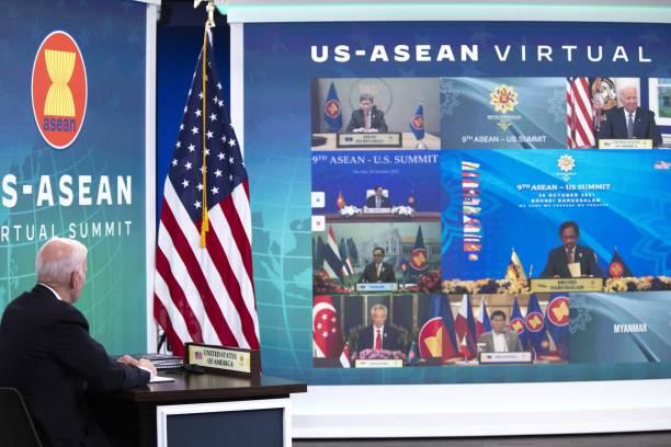 DC: President Biden Participates Virtually Annual U.S.-ASEAN Summit
