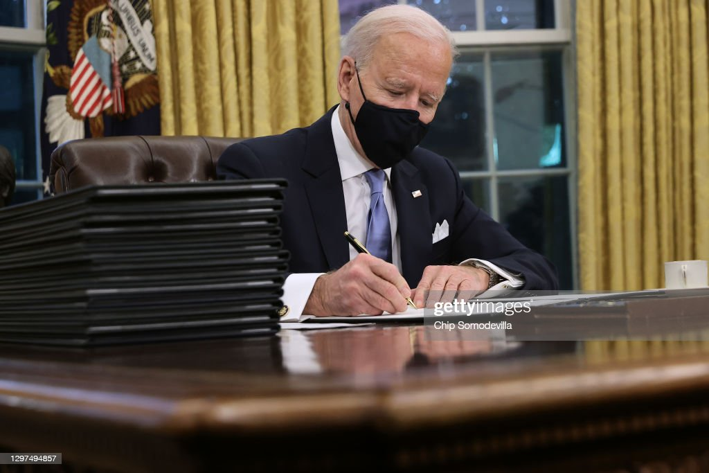 Joe Biden Marks His Inauguration With Full Day Of Events : News Photo
