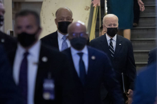 DC: Biden To Meet Democrats On Capitol Hill Before Europe Trip