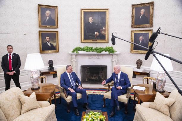 DC: President Biden Hosts Iraqi Prime Minister Mustafa Al-Kadhimi At White House