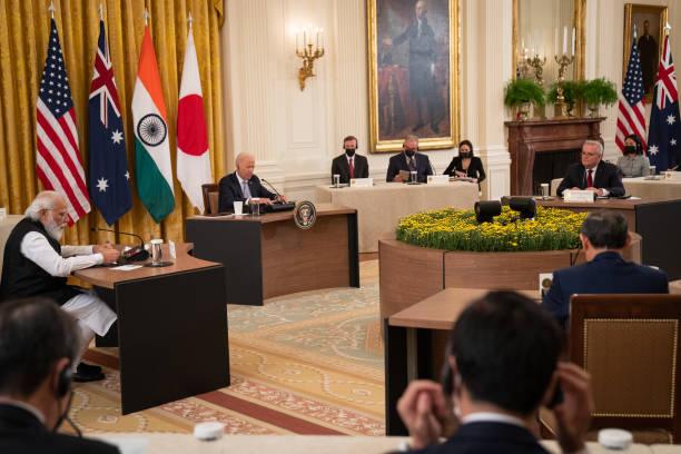 DC: President Biden Hosts Quad Leaders Summit At White House