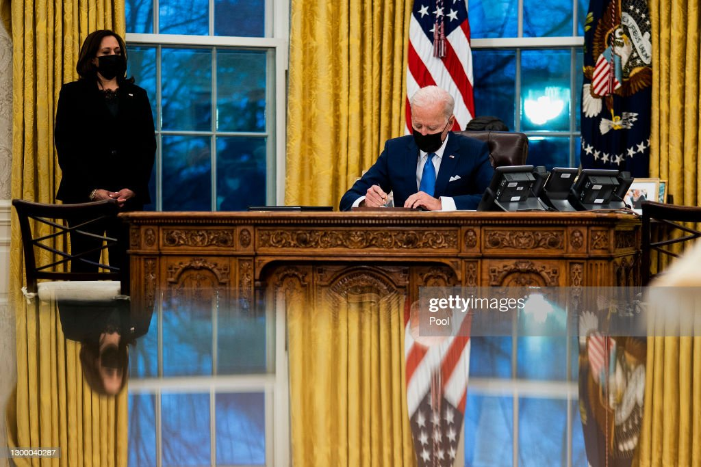 President Biden Signs Executive Orders To Modernize Immigration System : News Photo