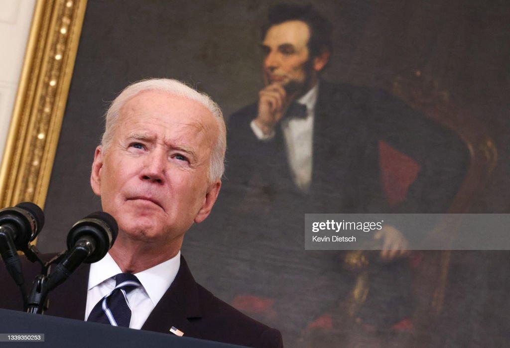 President Biden Speaks On Administration's Plan To Combat Delta Variant : News Photo