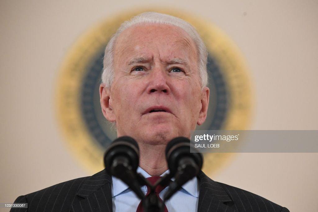US-HEALTH-VIRUS-POLITICS-BIDEN : News Photo