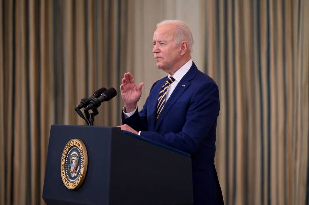 DC: President Biden Speaks On Country's COVID-19 Response And The Vaccination Effort